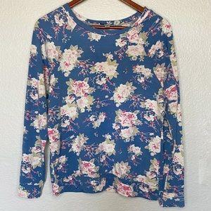 Ovi Floral Oversized Sweatshirt